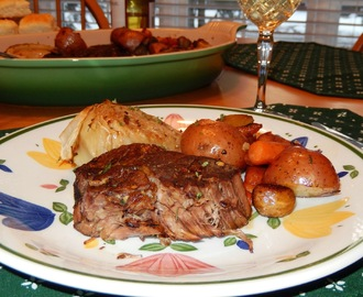 Balsamic Beef Pot Roast ~ In a Crock-pot?