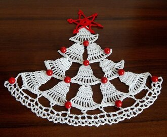 How to crochet Christmas tree  Crochet tree  Christmas motif  Step by step  Part 1