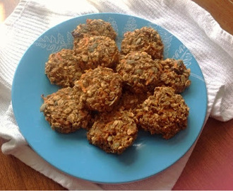 Vegan Carrot Cake Cookies