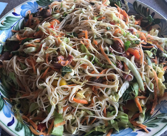 Beef and Noodle Salad - Vietnamese Style