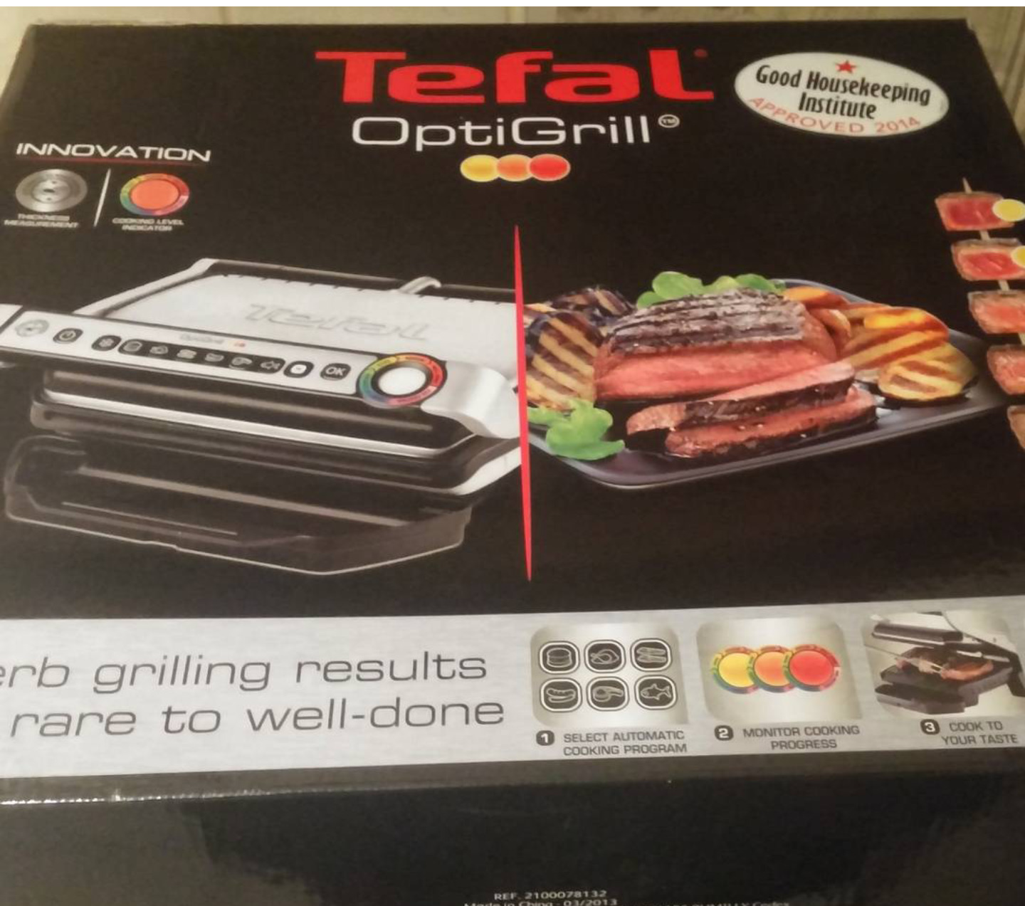 Review:- Tefal Optigrill & Bacon Wrapped Jalapeno Popper Stuffed Chicken Recipe