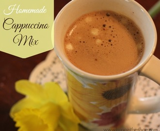 Homemade Cappuccino Mix