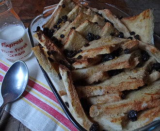 Cakes & Bakes: Boozy bread and butter pudding