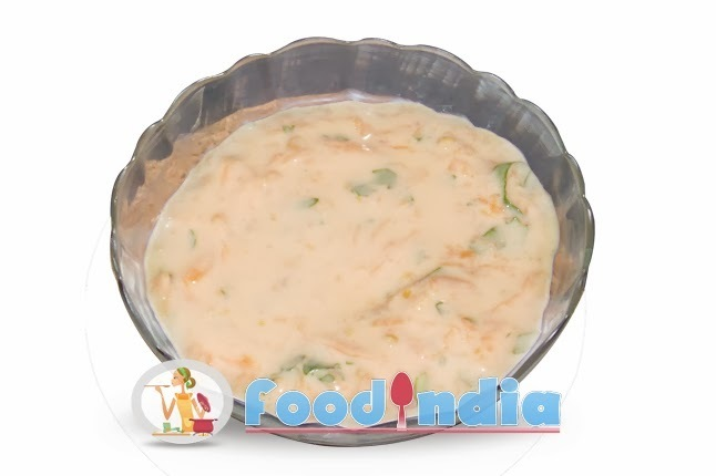 Carrot Raita Mouth Watering Combination of Raita Recipe