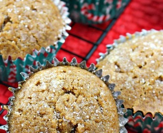 Homemade Gingerbread Muffins Full of Fall Flavor