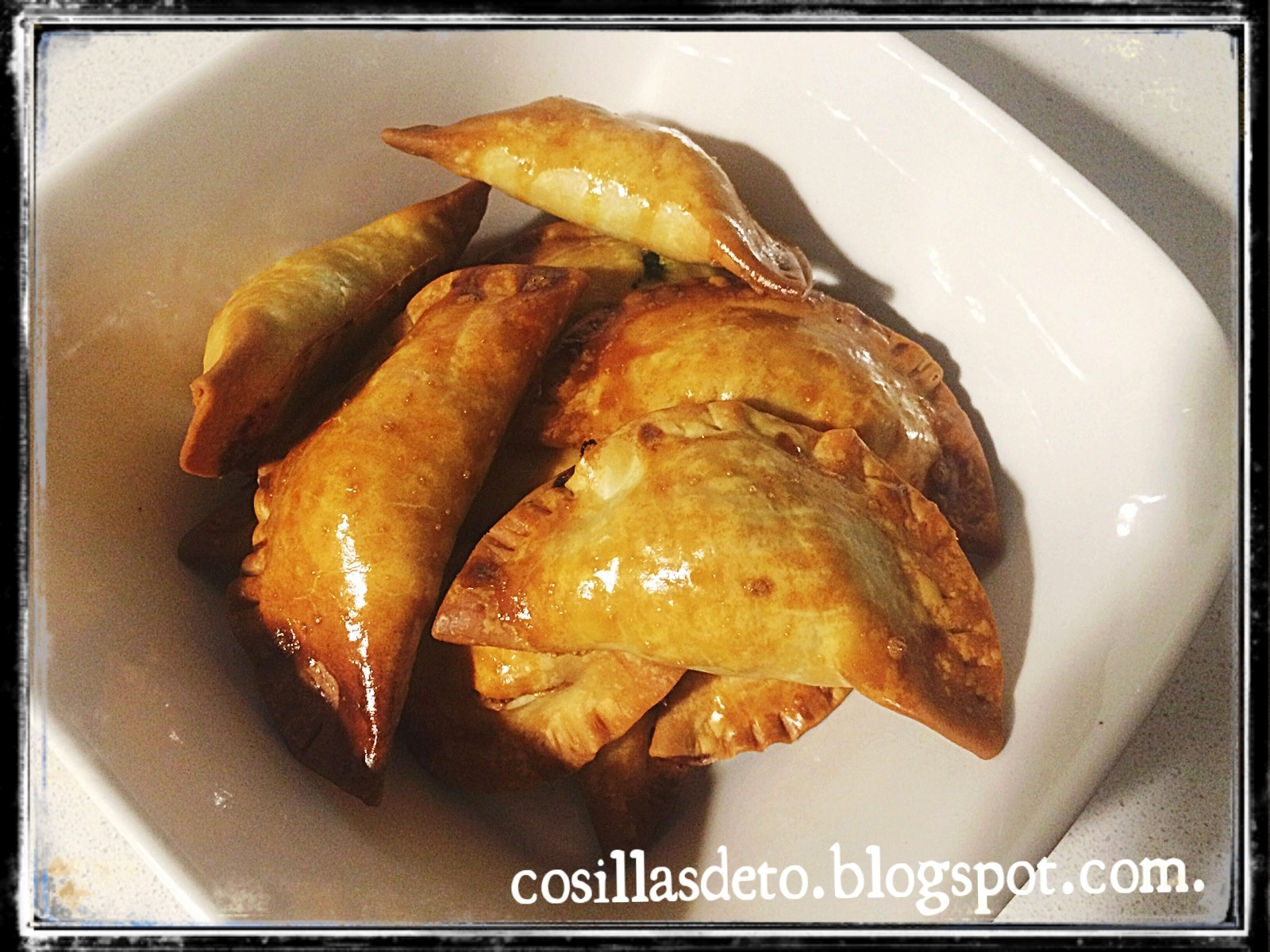 Empanadillas de espinacas y queso thermomix ( Spinach and cheese dumplings thermomix )