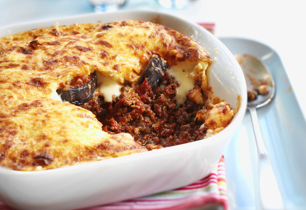 Quorn Meat Free Mince Moussaka