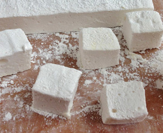 Marshmallows Caseiro