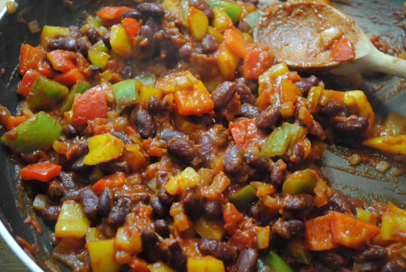 Super Easy Healthy Veggie Chilli recipe