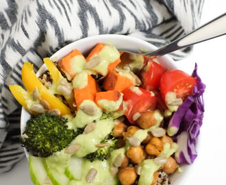 Rainbow Buddha Bowls for Kids!