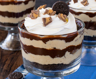 Peanut Butter Pie Parfaits