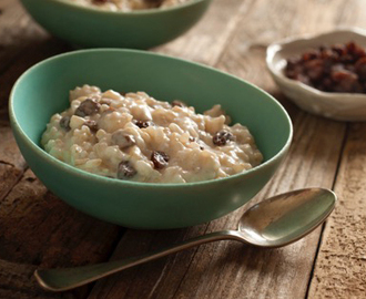Delicious Dessert: Namaste Brown Rice Pudding
