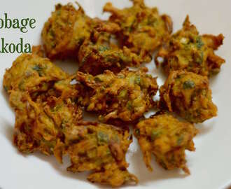 Cabbage Pakoda|Cabbage Fritters