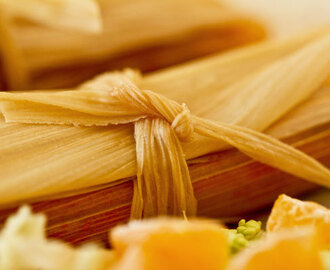 Red Chile Chicken Tamales