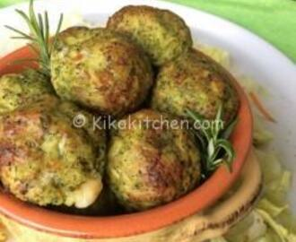 Polpette di broccoli e patate