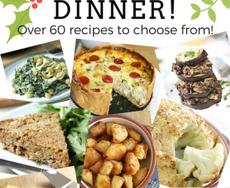 Build your own vegetarian Christmas dinner!