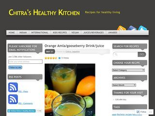 Chitra's Healthy Kitchen