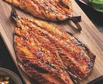 Korean Grilled Mackerel | Recipe | Mackerel recipes, Grilled mackerel, Fish recipes
