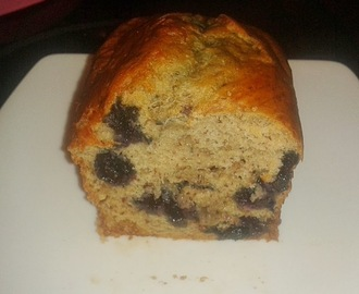 Rezept vom 21.11.2013: Easy Peasy Vegan Banana Blueberry Bread (Low Fat)