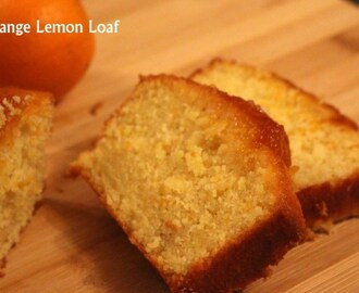 Orange Lemon Loaf