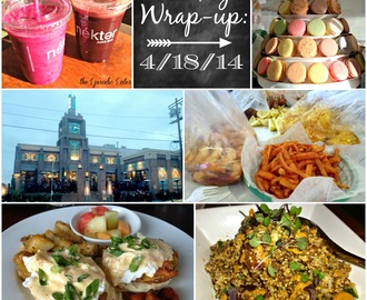 Weekly Wrap-Up: SO. MUCH. FOOD.