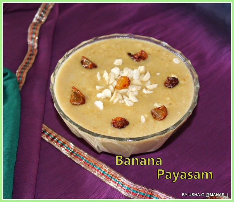 EASY BANANA OATS PAYASAM WITH COCONUT MILK/SOUTH INDIAN FESTIVAL RECIPES/EASY PAYASAM RECIPES/PAZHAM PRADHAMAN