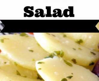German Potato Salad - For red blooded Americans and our Canadian Neighbors