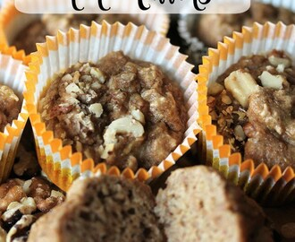 Healthy (and Delicious) Banana Muffins!