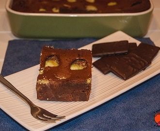 BROWNIE DE CHOCOLATE Y MENTA (BROWNIE'S ROSCAM, BY THERMOMIX )