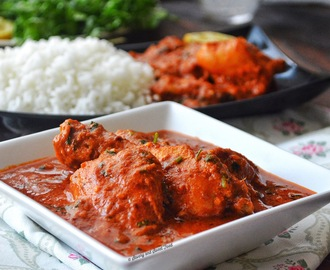 Spicy Indian Style Red Chicken Curry