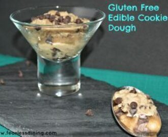Gluten Free Edible Cookie Dough