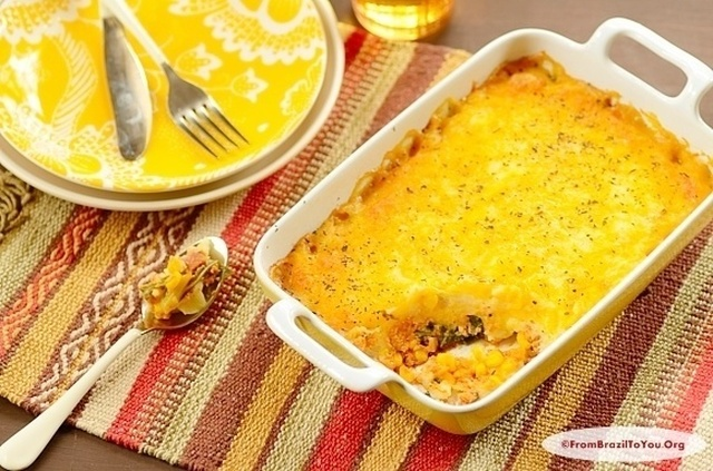 Escondidinho de Frango (Brazilian Chicken Shepherd's Pie)… A Super Delicious One Dish Wonders!!!