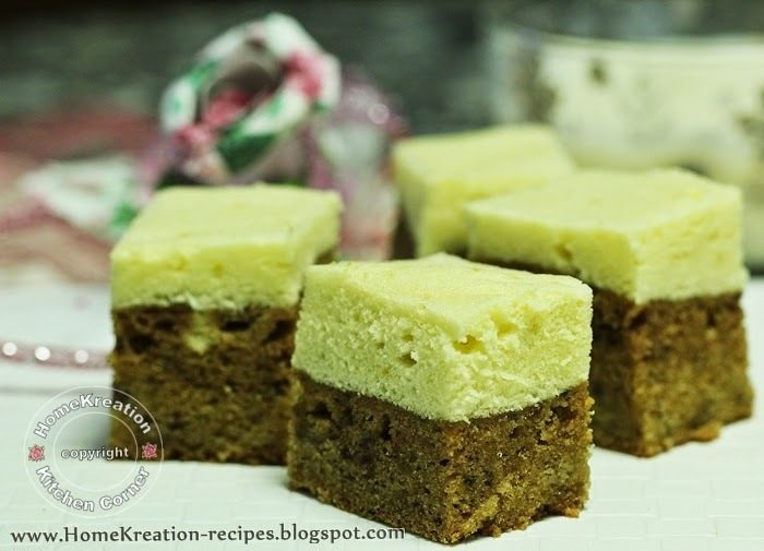 Steamed Double Layer Banana Cake (Kek Pisang Kukus Dua Lapis)