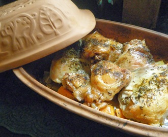 Clay Pot Chicken for Easy Entertaining
