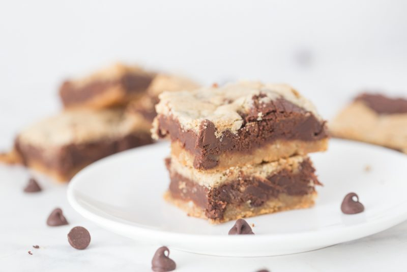 Chocolate Chip Dream Bars – and our first Staycation