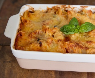 Tomato Vegetable Pasta Bake