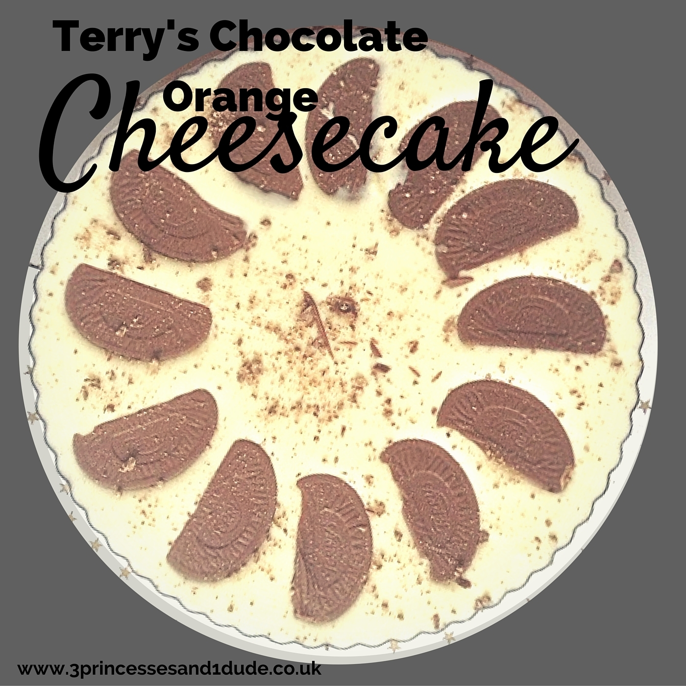 Countdown To Christmas. Terry's Chocolate Orange Cheesecake