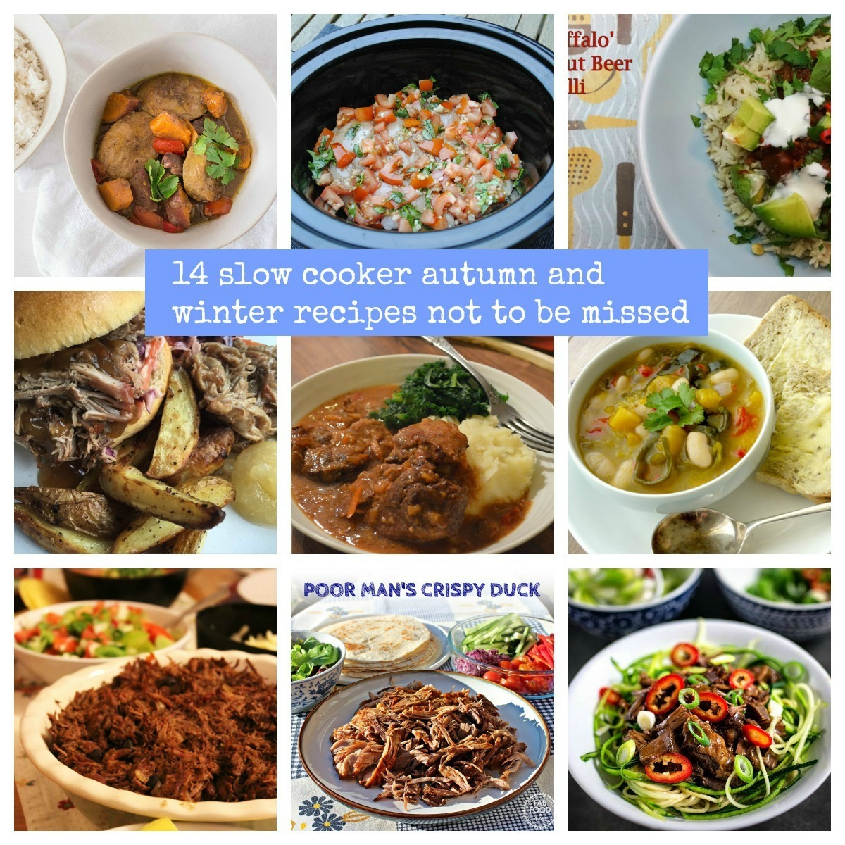 14 Slow Cooker Autumn/Winter Recipes Not To Be Missed