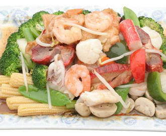 Healthy Seafood Chopsuey Recipe