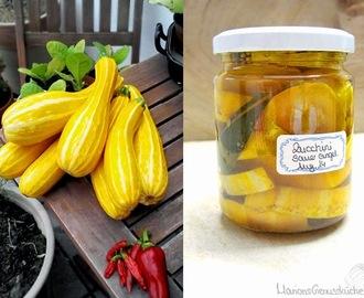 zucchini einlegen haltbar machen rezepte mytaste. Black Bedroom Furniture Sets. Home Design Ideas