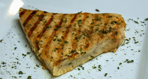 Easy Grilled Marinated Swordfish Recipe