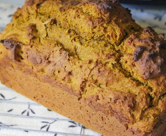 Whole Wheat Pumpkin Bread!