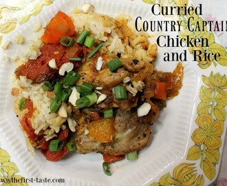 Curried Country Captain Chicken and Rice