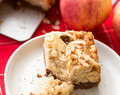 Kruidnoten Apple Cake Bars ♦ Soft and Moist