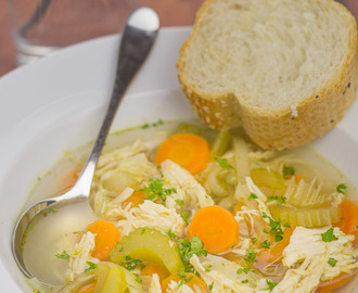 Simple Chicken and Vegetable Soup