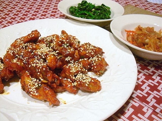 Korean Boneless Spicy Chicken