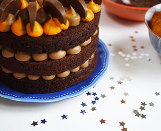 Chocolate Orange Layer Cake Recipe & Festive Food Friday #3