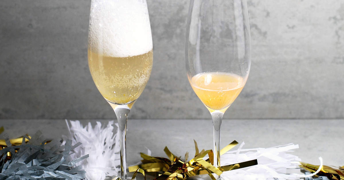 French 75 med hjortron