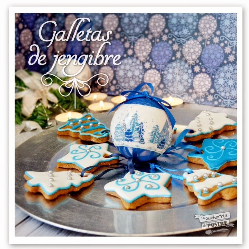 GALLETAS NAVIDEÑAS DE JENGIBRE / GINGERBREAD CHRISTMAS COOKIES