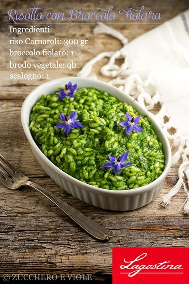 Risotto di Broccolo Fiolaro